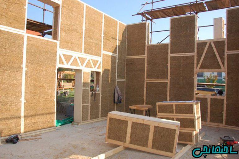 %عکس - کاربرد پانل های استرامیت در ساختمان