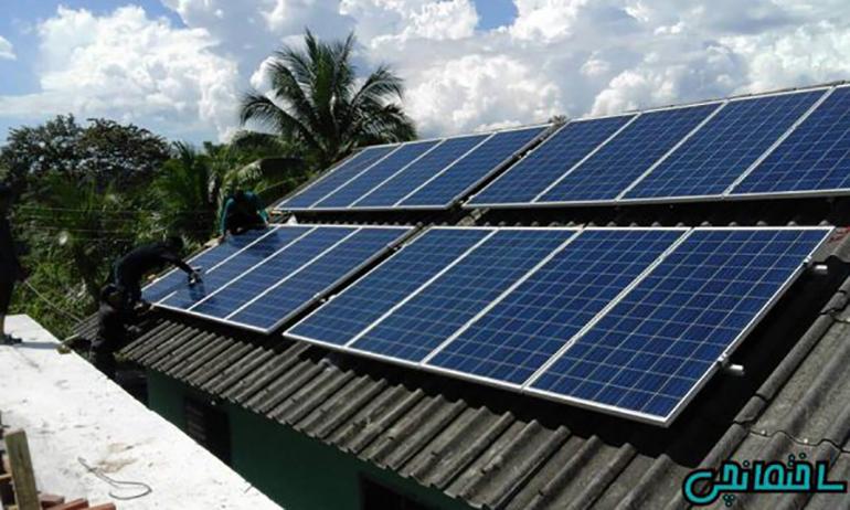 %عکس - کاربرد پنل های خورشیدی در ساختمان