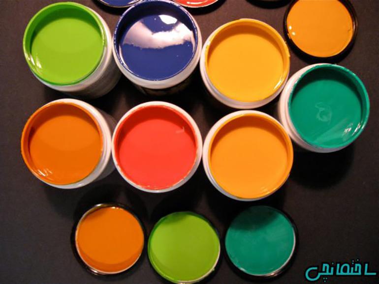 انواع رنگ های ساختمانی