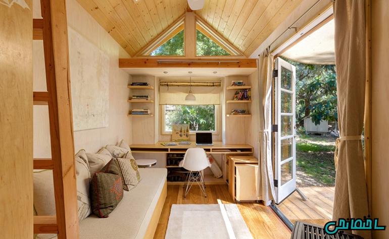 %عکس - 4 راز در طراحی خانه های کوچک
