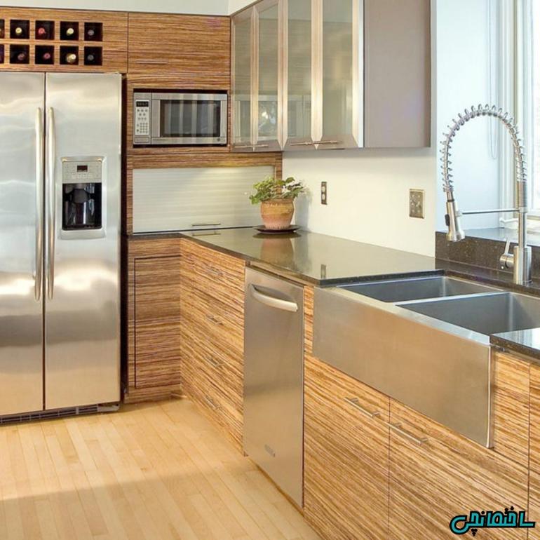 %عکس - ترفندهای چیدمان آشپزخانه کوچک