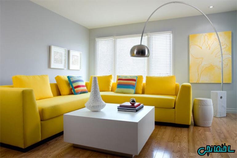 %عکس - راز استفاده از رنگ ها در طراحی داخلی