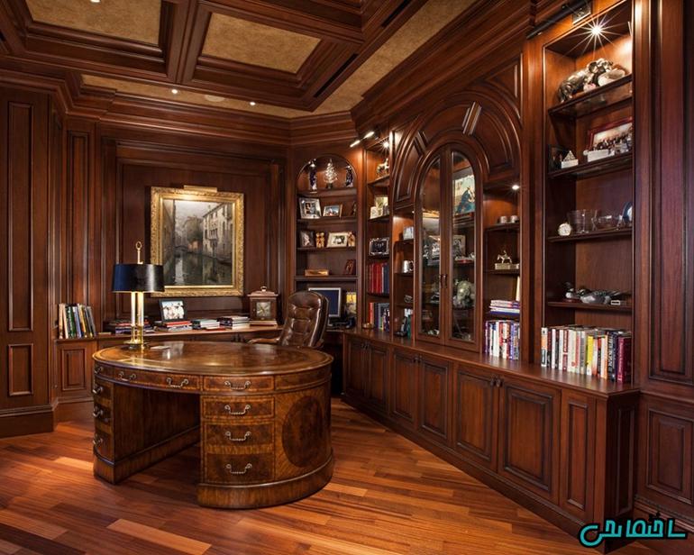 سقف کاذب در کتابخانه