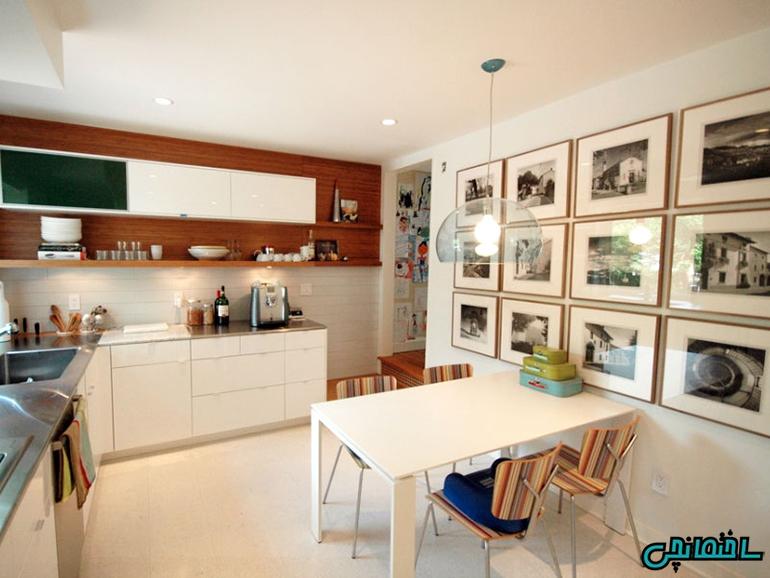 %عکس - آسان ترین ایده های طراحی دیوار آشپزخانه