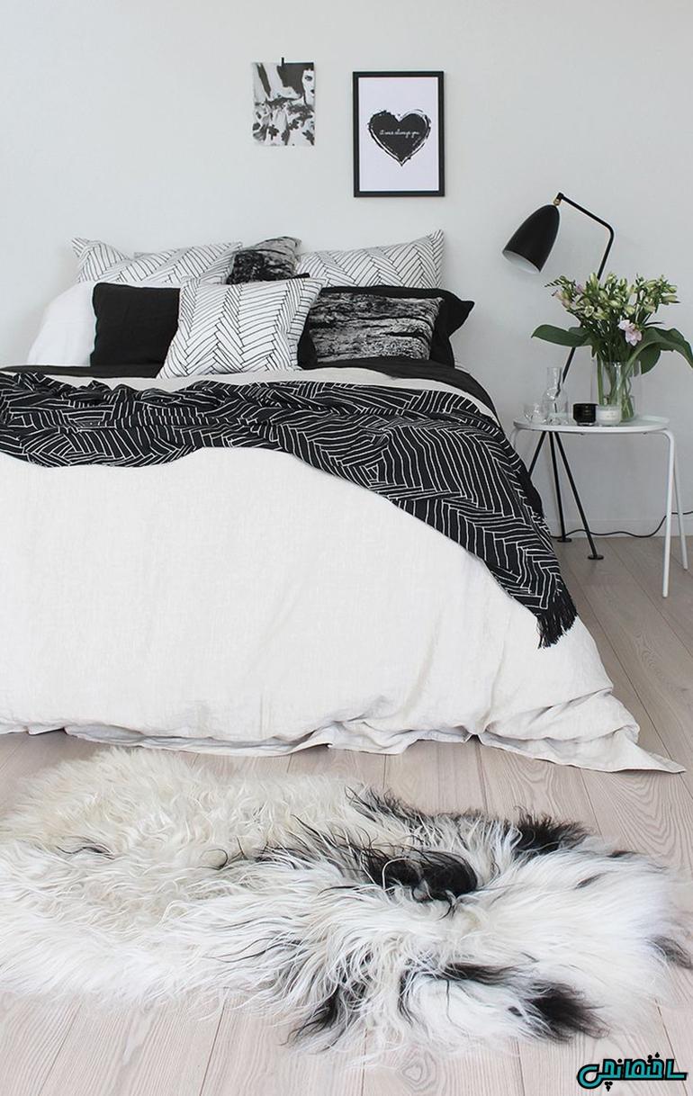 استفاده از الگوهای سیاه سفید