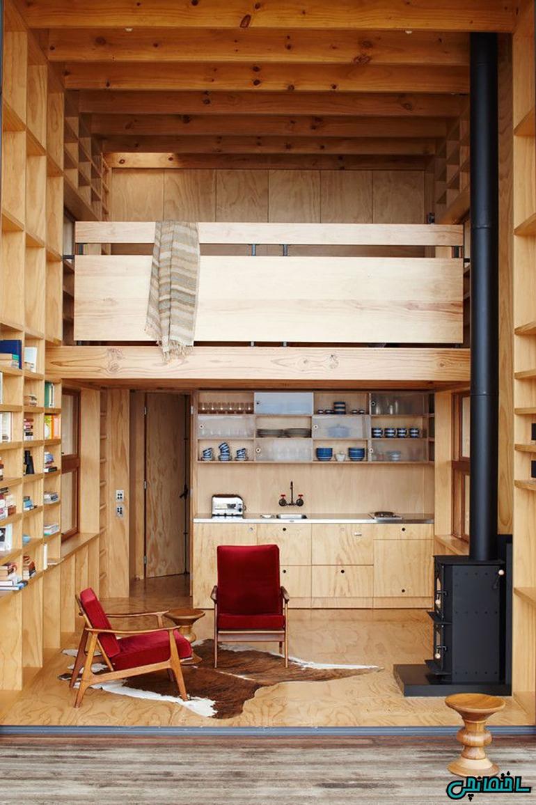 آشپزخانه چوبی