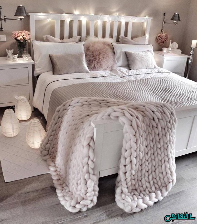 استفاده از پتو و رو تختی مناسب