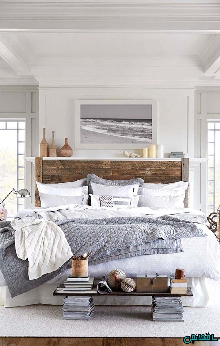 %عکس - راهکارهای طراحی اتاق خوابی دنج