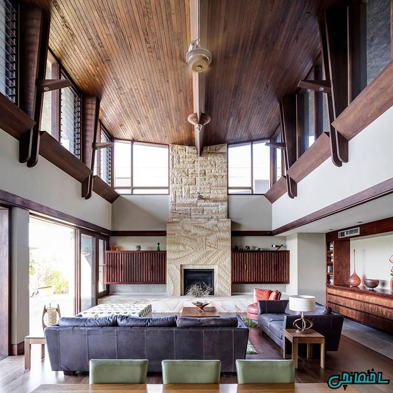 استفاده از طراحی ساده برای سقف