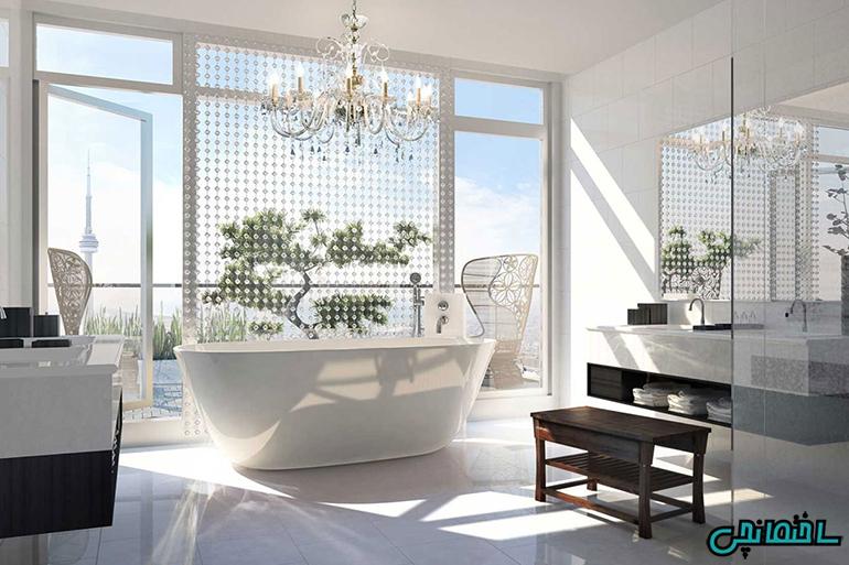 %عکس - تازه ترین راهکارهای طراحی حمام