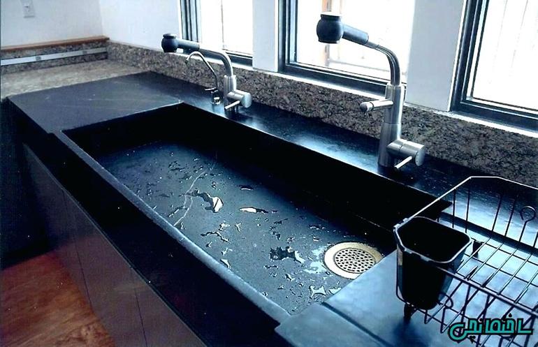 %عکس - انواع سینک ظرفشویی آشپزخانه[+عکس های جدید و نکات طلایی خرید]