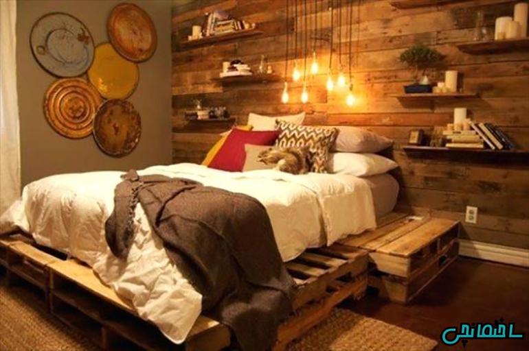 استفاده از پانل های چوبی