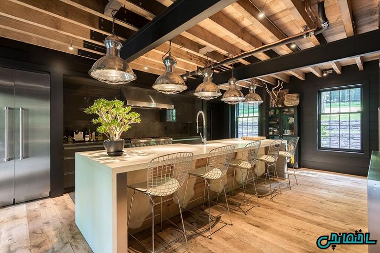 %عکس - ایده های طراحی آشپزخانه ای متفاوت