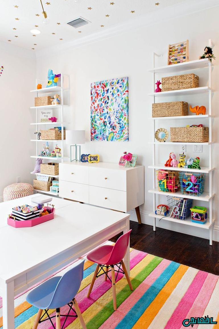 %عکس - ایده های طراحی اتاق کودک