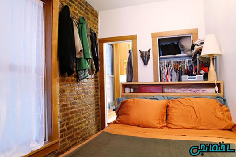 %عکس - نکات مهم در چیدمان آپارتمان کوچک