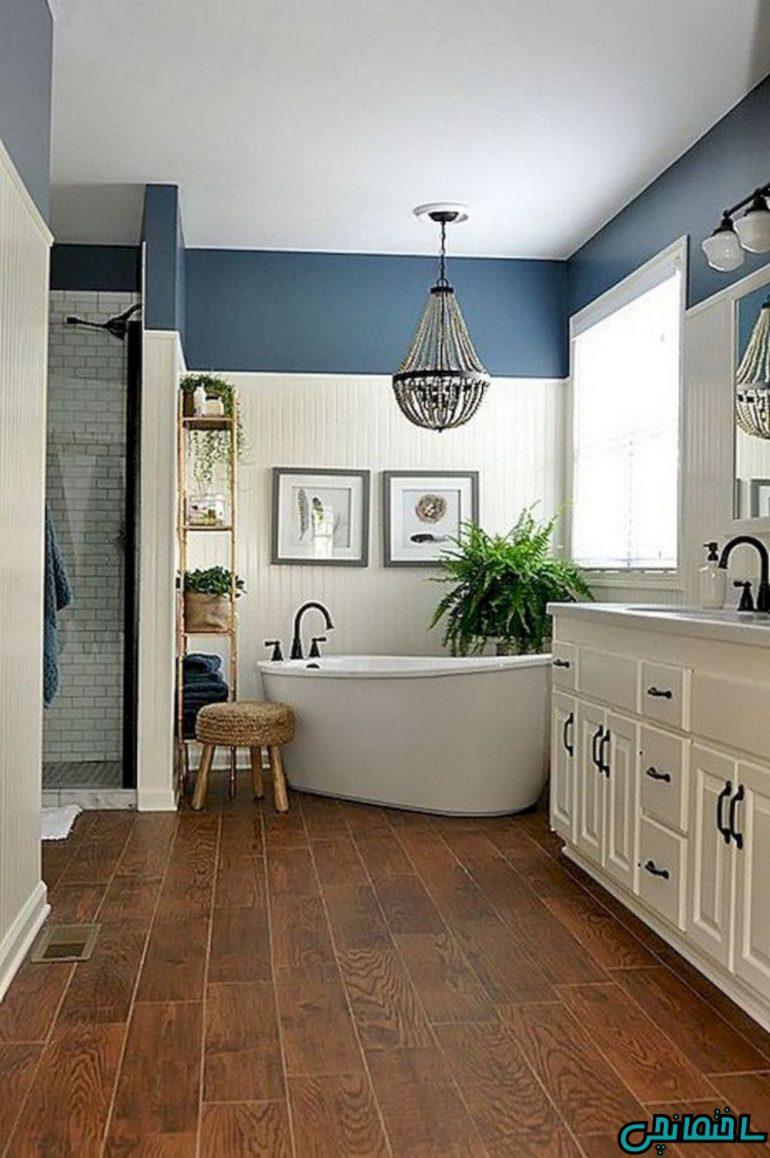 حمام آبی سبک میانه قرن