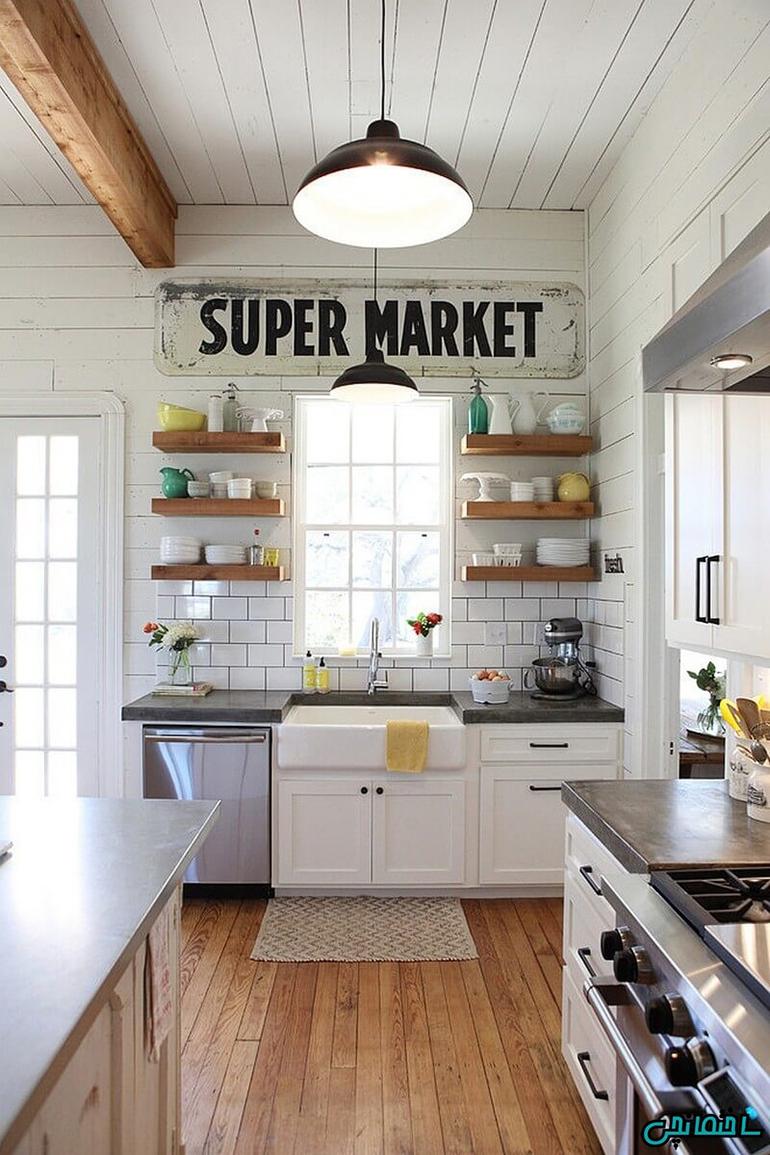 %عکس - کاربردی ترین راهکارهای طراحی آشپزخانه کوچک