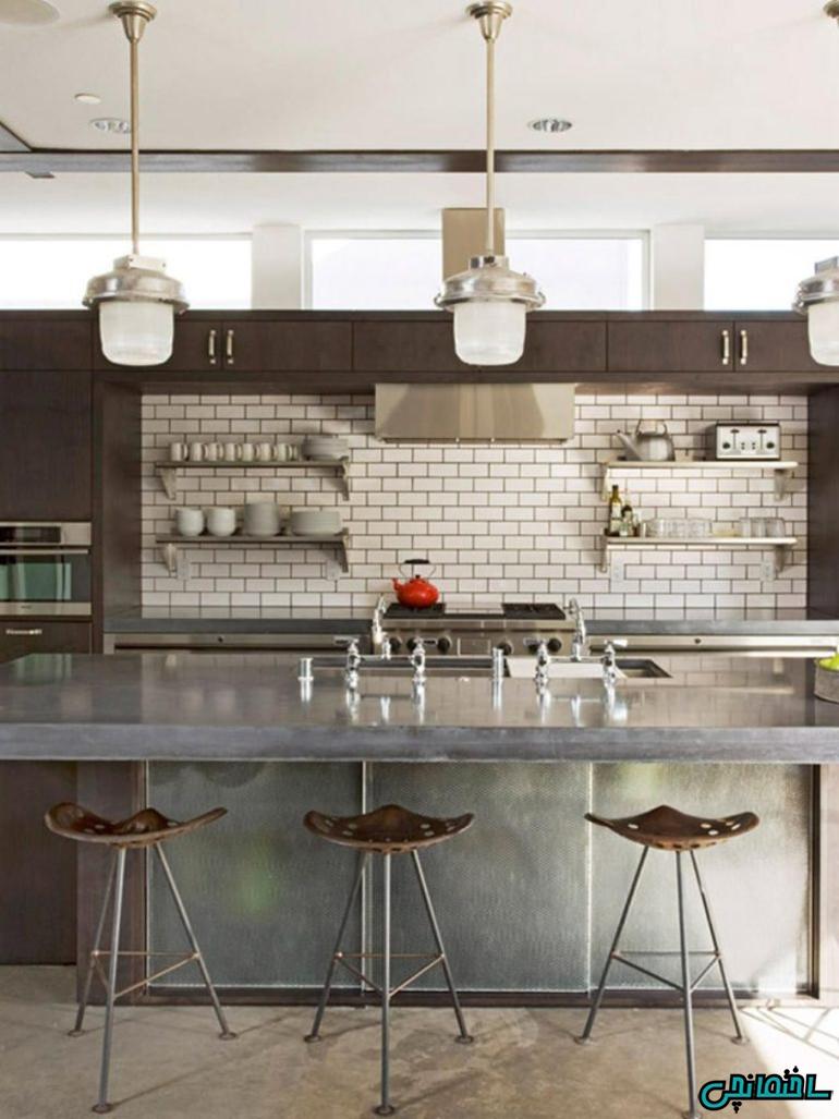 رنگ های خنثی در آشپزخانه