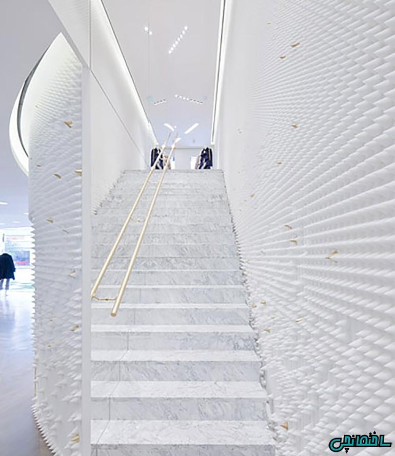 %عکس - ایده های برتر طراحی راه پله مدرن