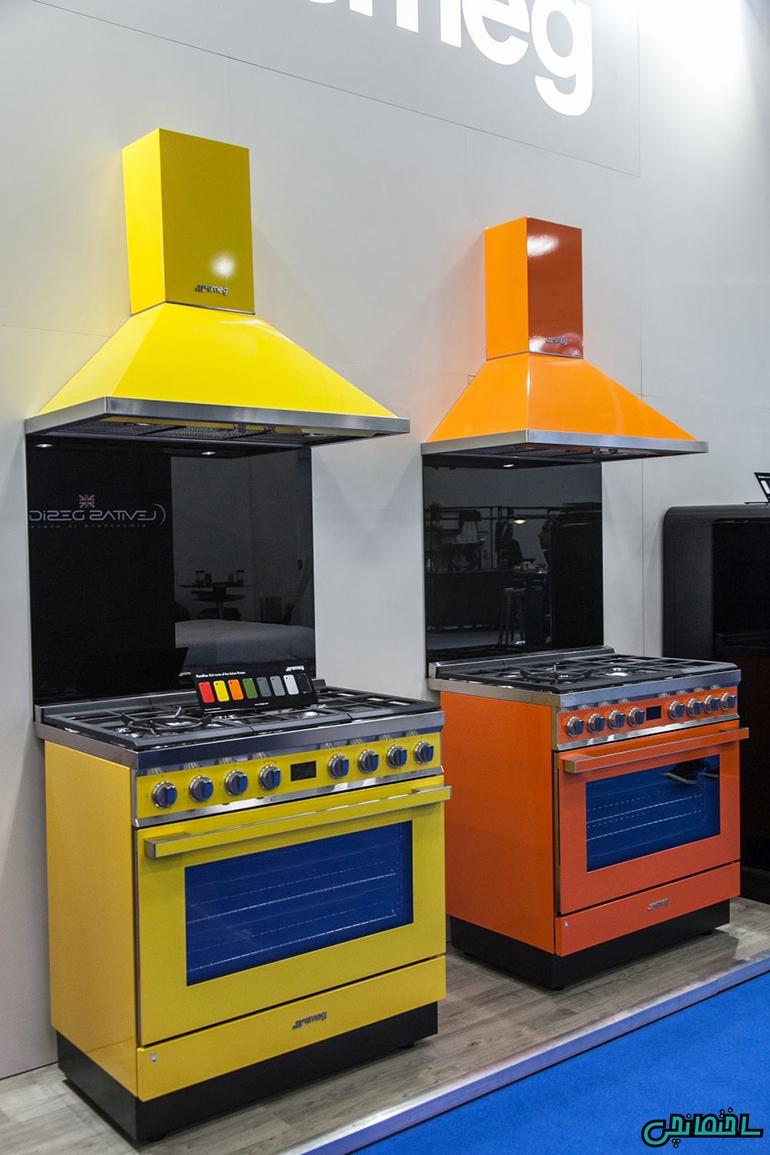 استفاده از وسایل برقی رنگی در آشپزخانه