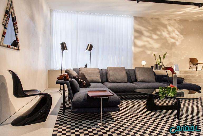 %عکس - راهکارهای طراحی خانه ای شیک