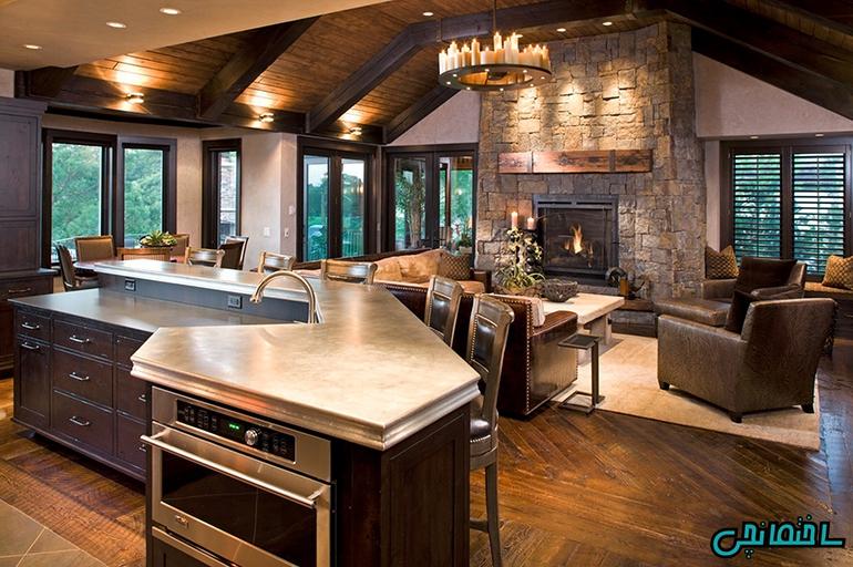 %عکس - راهکارهای طراحی خانه بزرگ