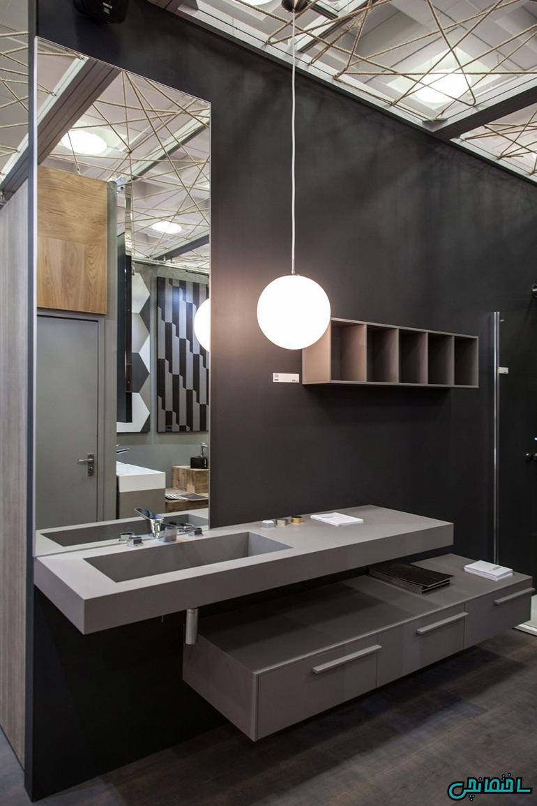 %عکس - تازه ترین راهکارهای طراحی حمام کوچک