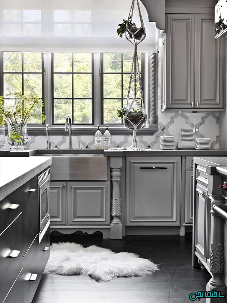 استفاده از رنگ خاکستری