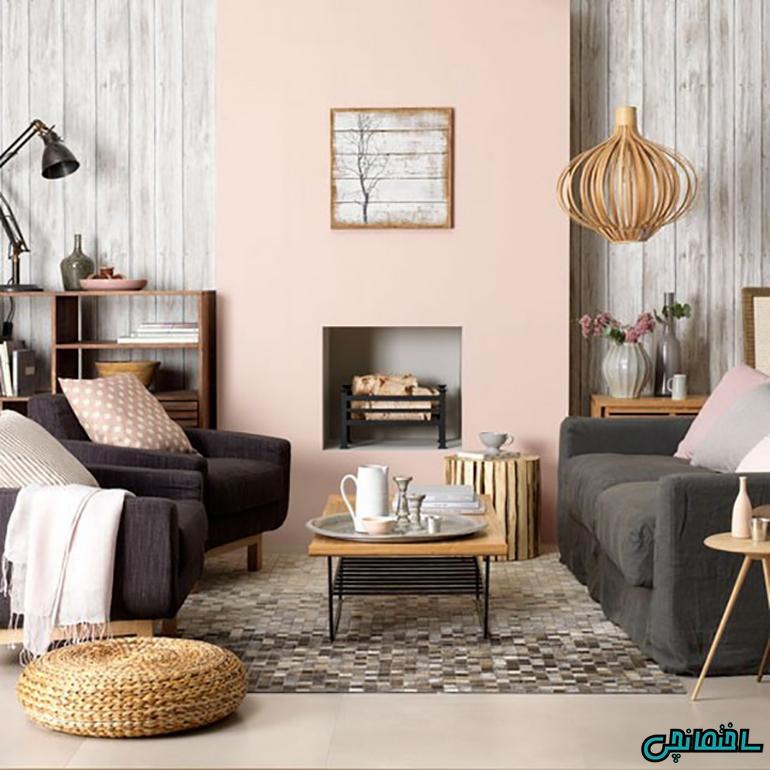 %عکس - چگونه از رنگ های روشن در خانه استفاده کنیم!