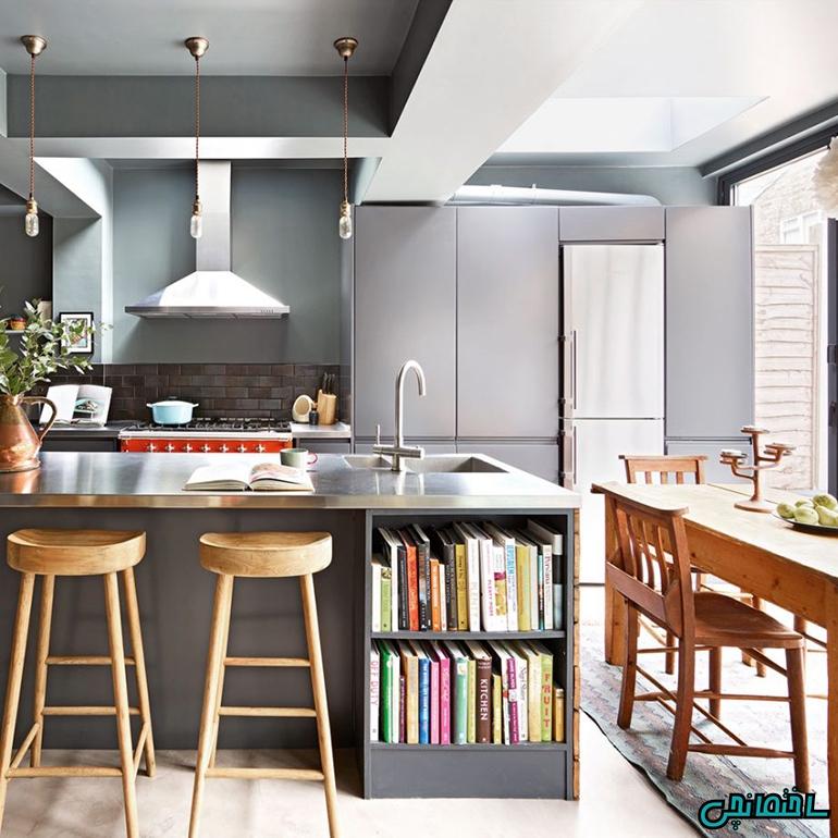 طراحی آشپزخانه به سبک صنعتی