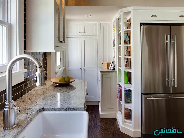 %عکس - دکوراسیون آشپزخانه کوچک