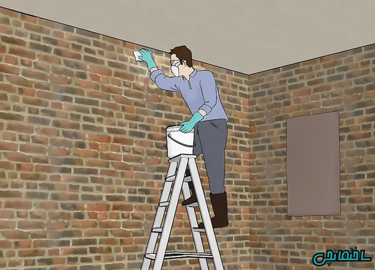 پاکسازی دیوار