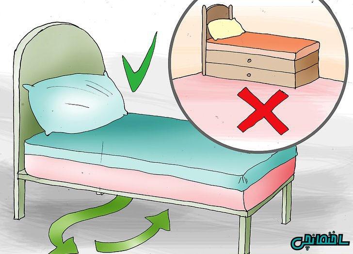 آموزش طراحی اتاق خواب براساس قوانین فنگ شویی