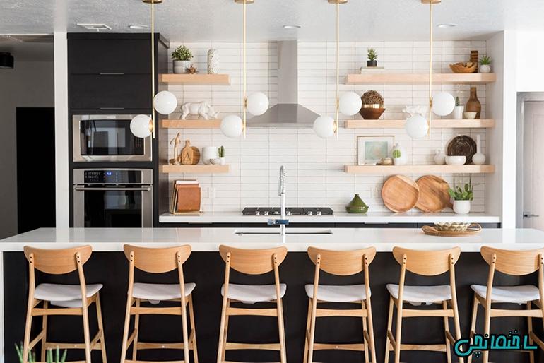 %عکس - چگونه آشپزخانه ای ساماندهی شده داشته باشیم!