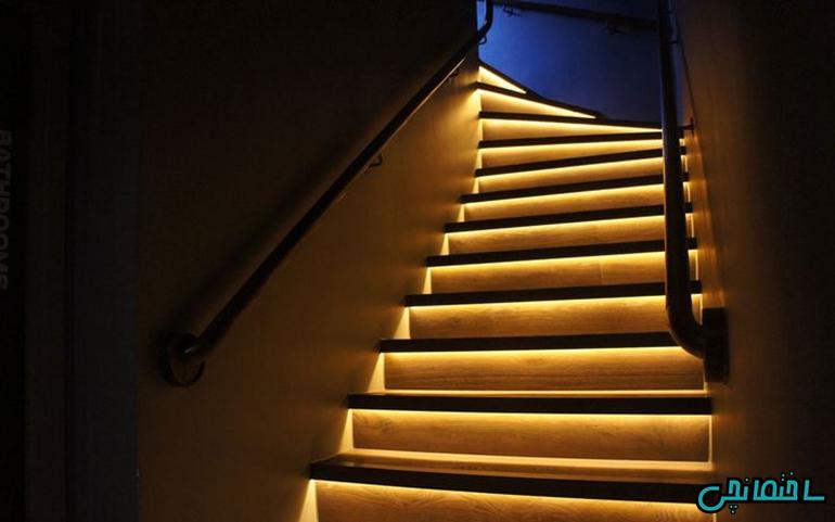 %عکس - انواع نورپردازی در ساختمان