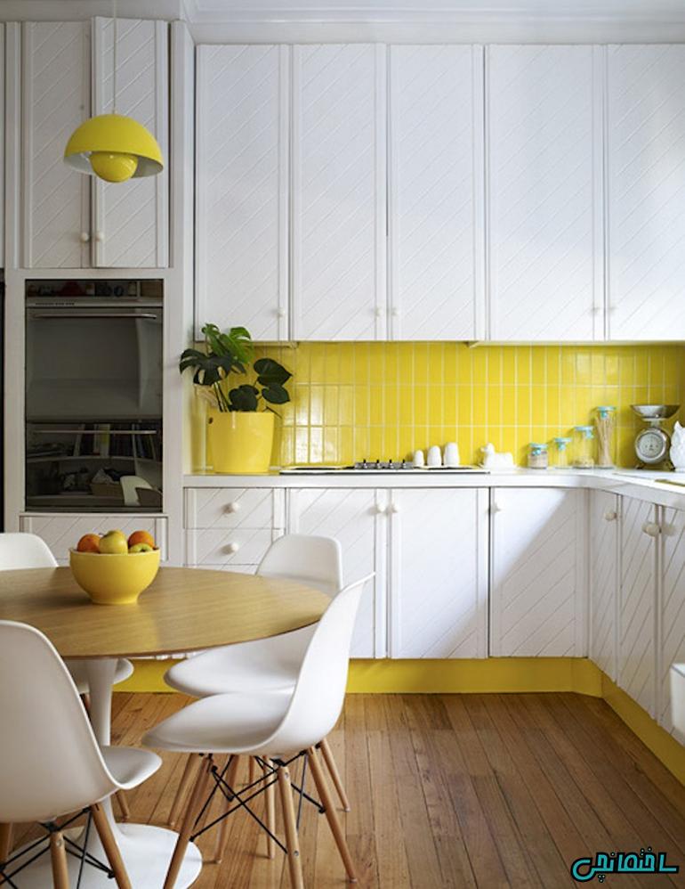 %عکس - نکات اصولی در طراحی آشپزخانه اپن