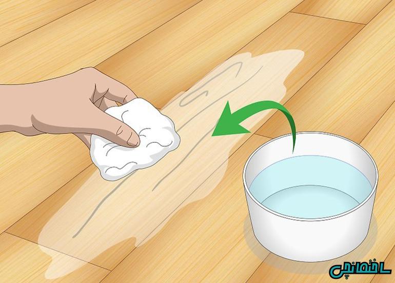 آموزش تعمیر کفپوش چوبی