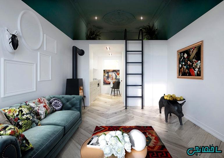 %عکس - دکوراسیون داخلی آپارتمان