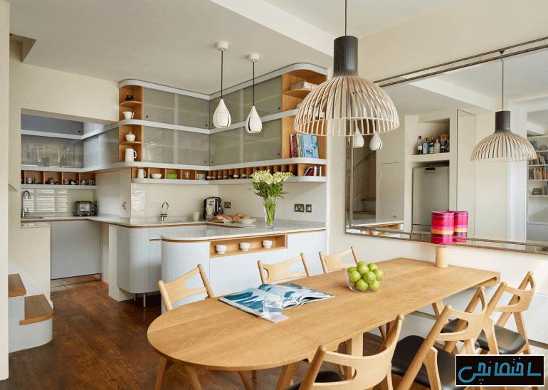 %عکس - راهکارهای طراحی خانه کارآمد