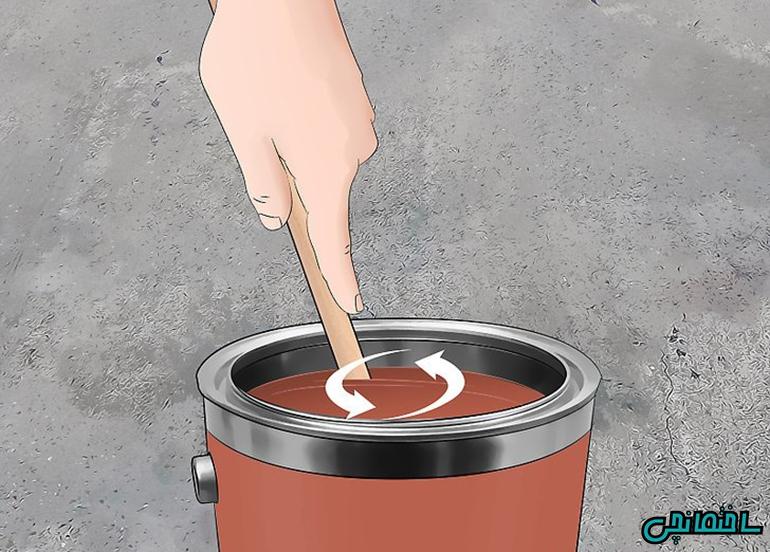 چگونه کانتر را رنگ آمیزی کنیم!