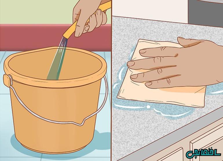 %عکس - چگونه سطوح گرانیتی را تمیز کنیم!