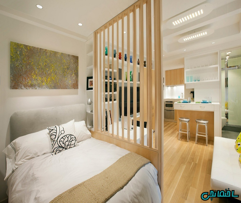 %عکس - طراحی دکوراسیون آپارتمان 70 متری