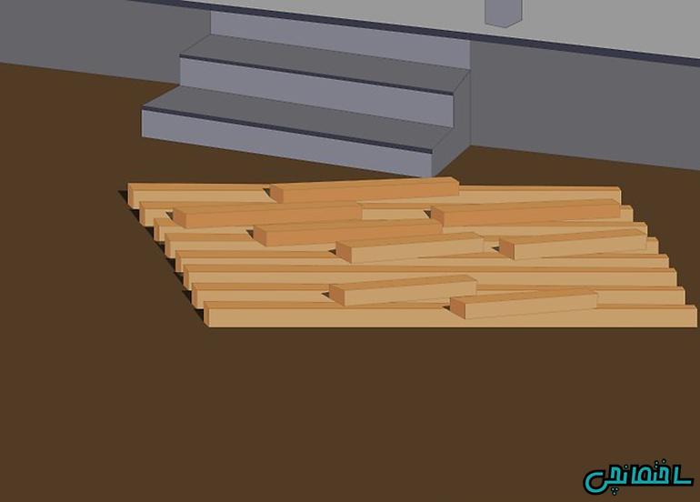 پاک کردن لکه از روی چوب
