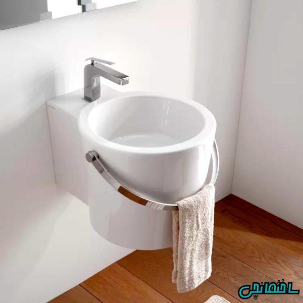 %عکس - انواع سینک روشویی حمام و سرویس بهداشتی