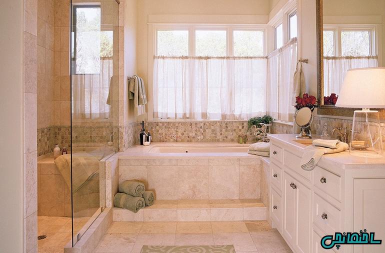 %عکس - وان حمام و ایده های طراحی آن