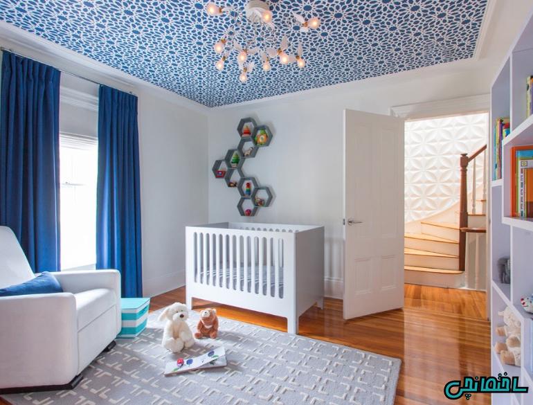 رنگ آمیزی سقف اتاق
