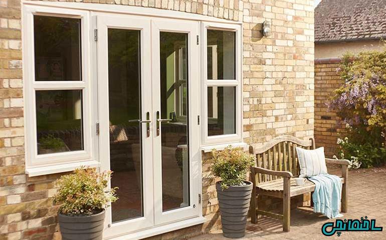 انواع درب ورودی و حیاط ساختمان