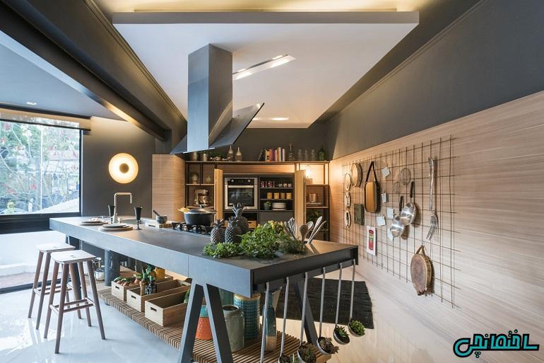استفاده از سبک مدرن در طراحی آشپزخانه