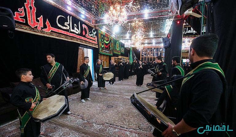 %عکس - نگاهی به معماری تکیه ها و حسینیه ها در ایران