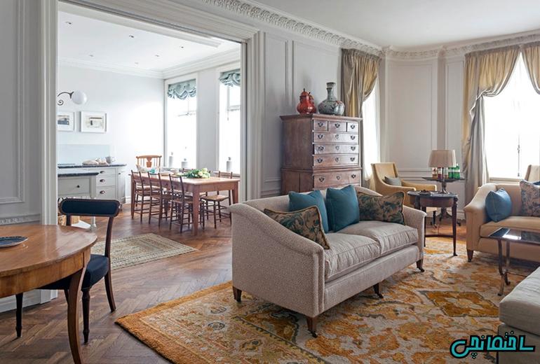 %عکس - بهترین راهکارها در طراحی آپارتمانی دلنشین و جذاب